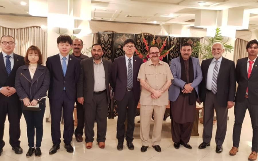 سردار الیاس تنویر سے مشہور چائینز کمپنی ''گاذبو گروپ ''کے وفد کی ملاقات ، پنجاب میں سرمایہ کاری بارے گہری دلچسپی کا اظہار