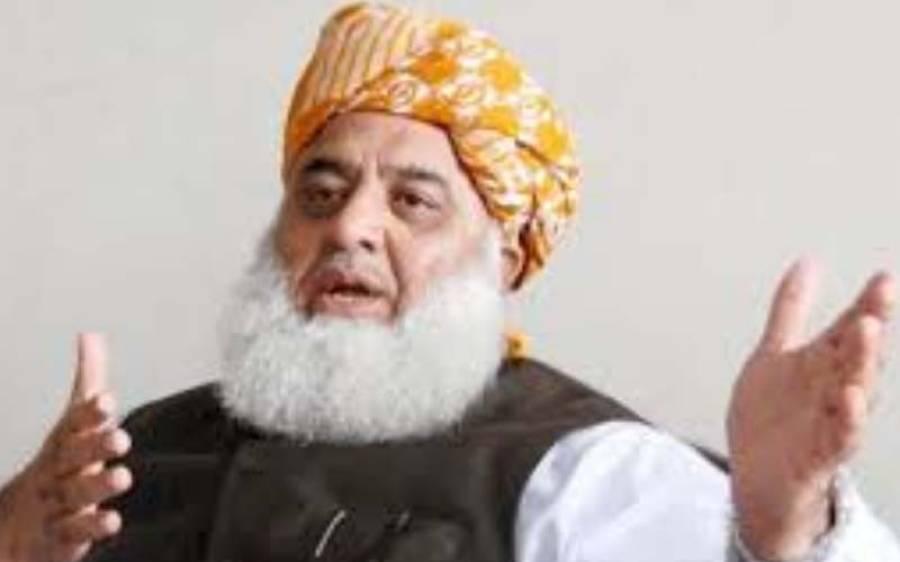 مولانا فضل الرحمان نے نواز شریف کے ساتھ ملاقات کا مقصد بیان کردیا