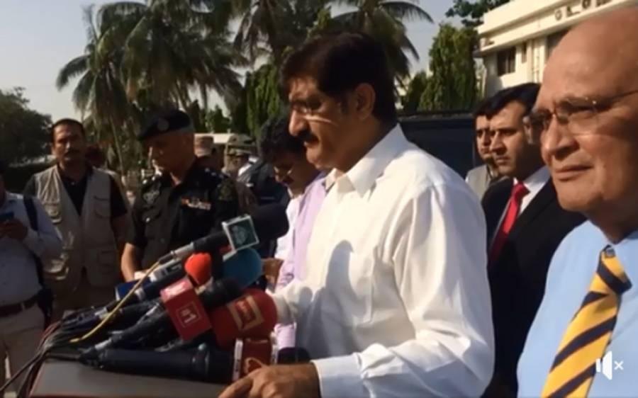 مبینہ پولیس مقابلے میں ڈیڑھ سالہ احسان کی موت ،پولیس نےمجھے کوئی رپورٹ نہیں دی میں خود پوچھتا رہا، اب سخت ایکشن ہوگا:وزیر اعلیٰ سندھ
