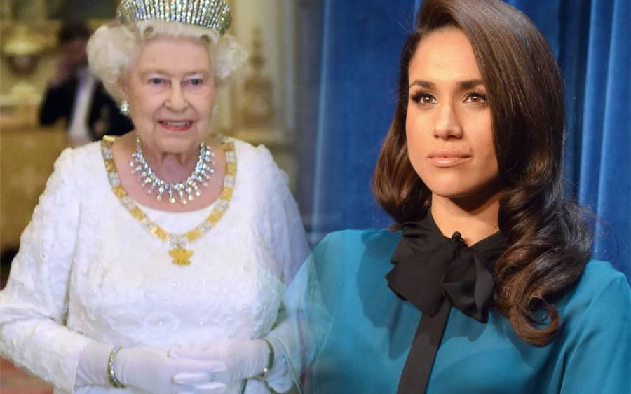 'اس گھر میں لوگوں سے اس طرح بات نہیں کرتے' برطانیہ کی ملکہ نے اپنی نئی بہو میگھن مارکل کو کیوں بری طرح جھڑک دیا؟