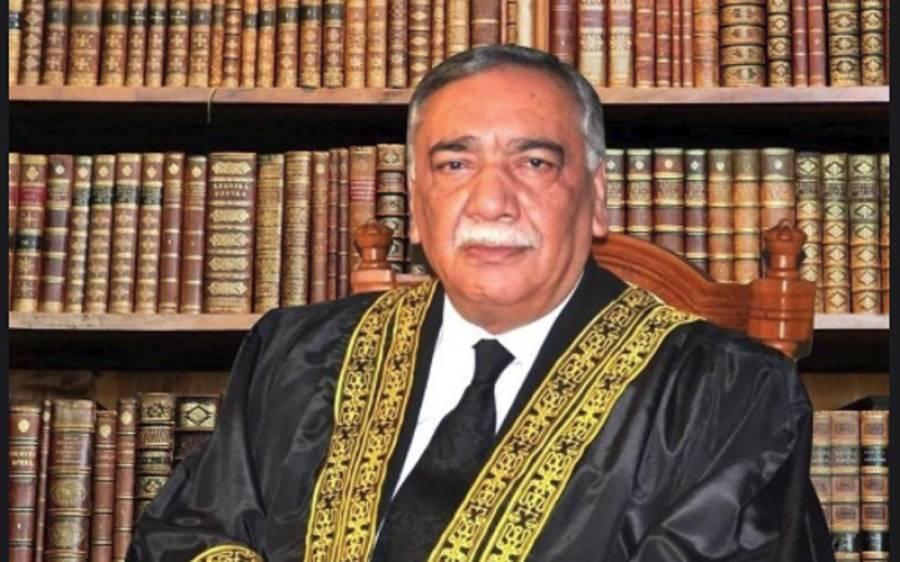 حکومت جسٹس قاضی فائز عیسیٰ کو نہیں ہٹا سکتی :چیف جسٹس آف پاکستان