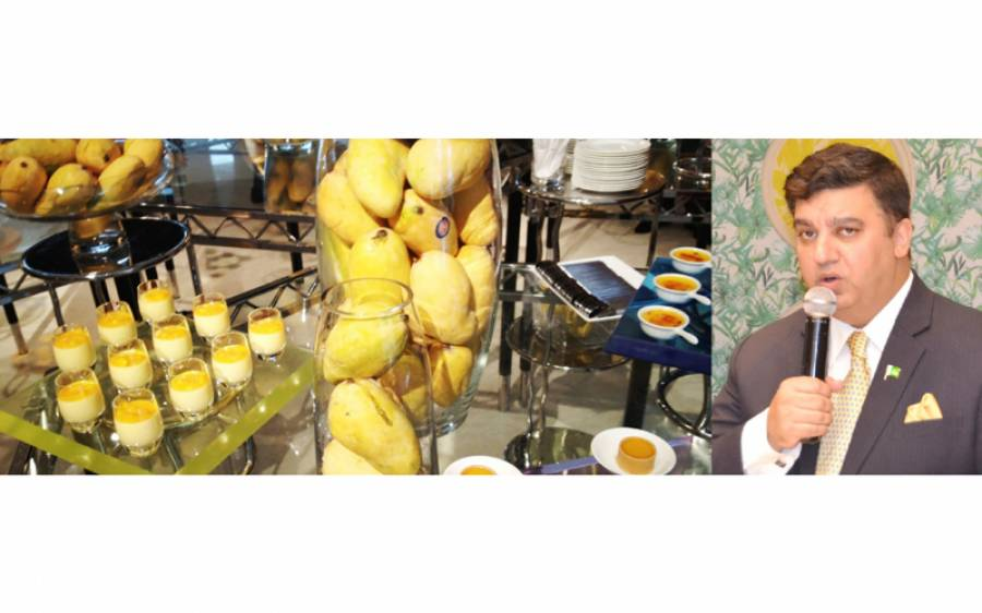 """پاکستان قونصلیٹ دبئی کی طرف سے دبئی کے ایک ہوٹل میں """"مینگو فیسٹیول """"کا اہتمام"""