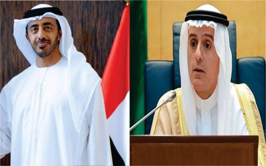 مسئلہ کشمیر پر عرب دنیا متحرک، سعودی عرب اور امارات کے وزرائے خارجہ آج پاکستان پہنچیں گے
