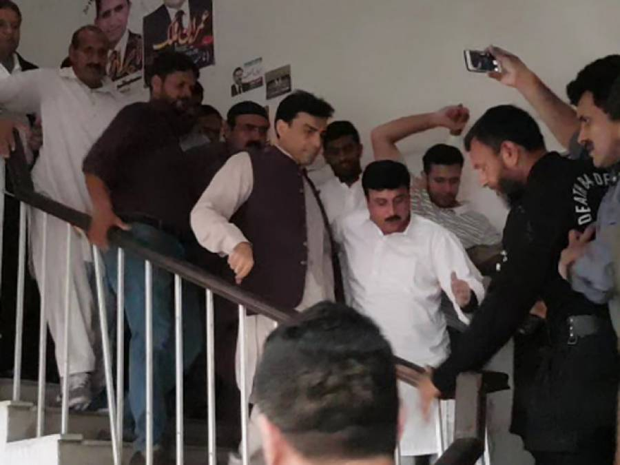 جسمانی ریمانڈ کیلئے نیب کی درخواست مسترد، حمزہ شہباز کو جیل بھیج دیا گیا