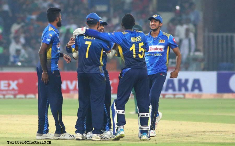 سری لنکا نے پاکستان کو پہلے ٹی 20 میچ میں عبرتناک شکست دے دی