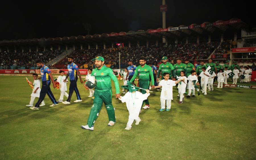 پاکستان اور سری لنکا کادوسرا ٹی 20 میچ آج قذافی سٹیڈیم میں کھیلا جائے گا