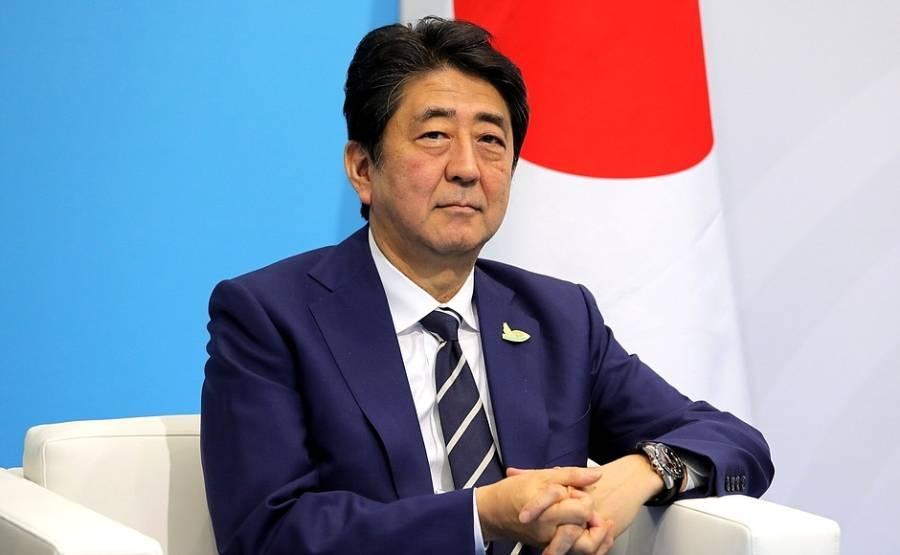 جاپانی وزیراعظم شنزوابے کے طیارے میں آگ بھڑک اٹھی