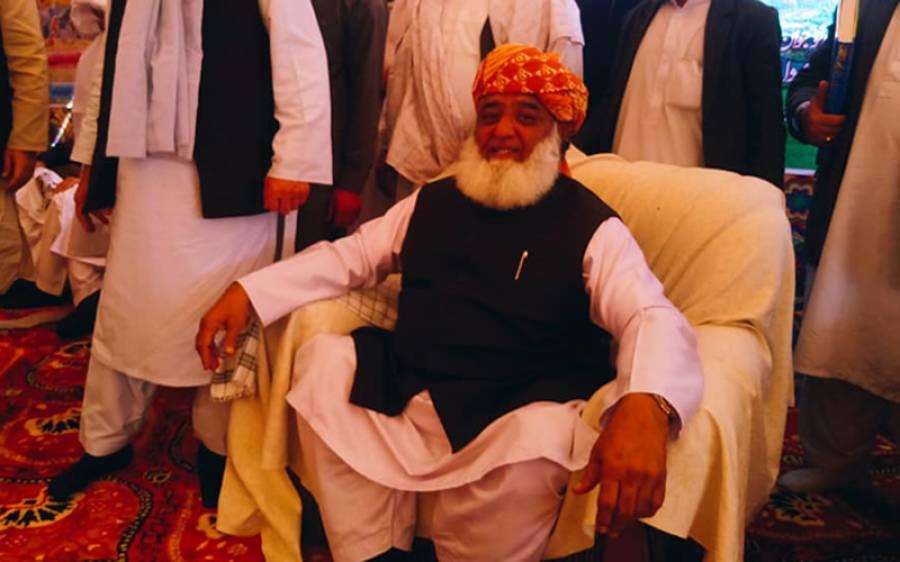 فوج طے کرے کہ آئندہ عام انتخابات سے ان کا کوئی تعلق نہیں :مولانا فضل الرحمان