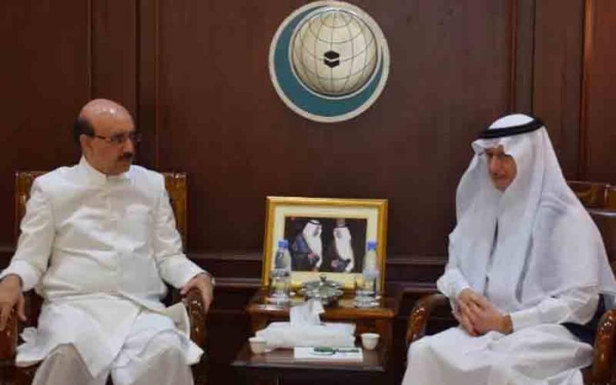 صدر آزاد کشمیر سردار مسعود خان کی او آئی سی کے سیکرٹری جنرل سے ملاقات
