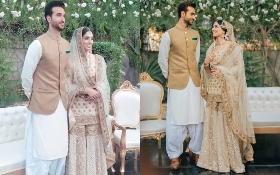 خوبرو سپورٹس اینکر زینب عباس نے ' خاموشی' سے شادی کرلی، نکاح کی تصاویر سامنے آگئیں