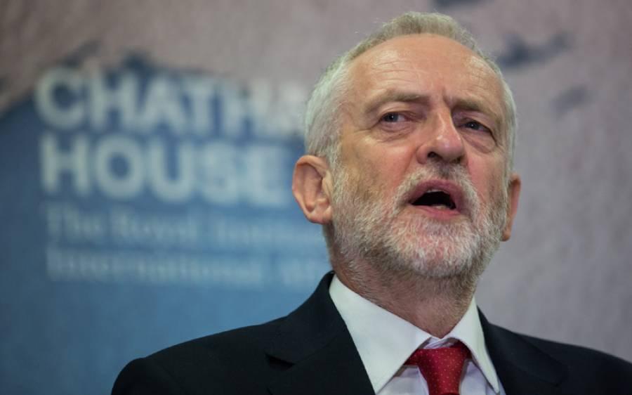 انتخابات میں اکثریت نہ ملنے پربرطانوی لیبر پارٹی کے سربراہ جیریمی کوربن کا عہدہ چھوڑنے کااعلان