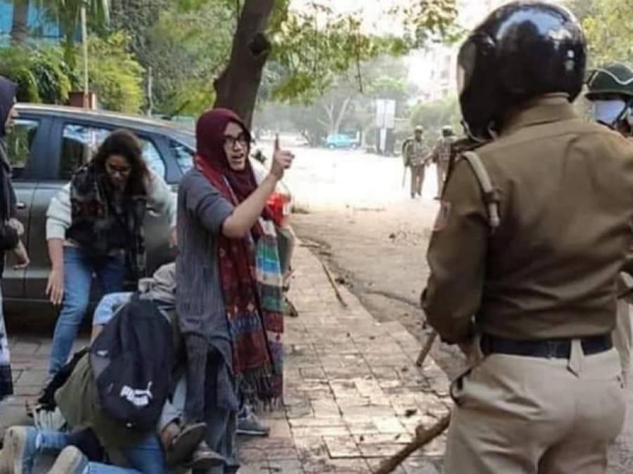 مزاحمت کا استعارہ ، جامعہ ملیہ کی عائشہ رینا