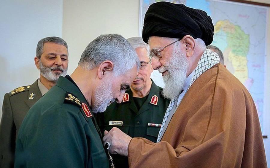 ایران کے سپریم لیڈر کی امامت میں جنرل قاسم سلیمانی کی نمازجنازہ ادا،لاکھوں افراد کی شرکت
