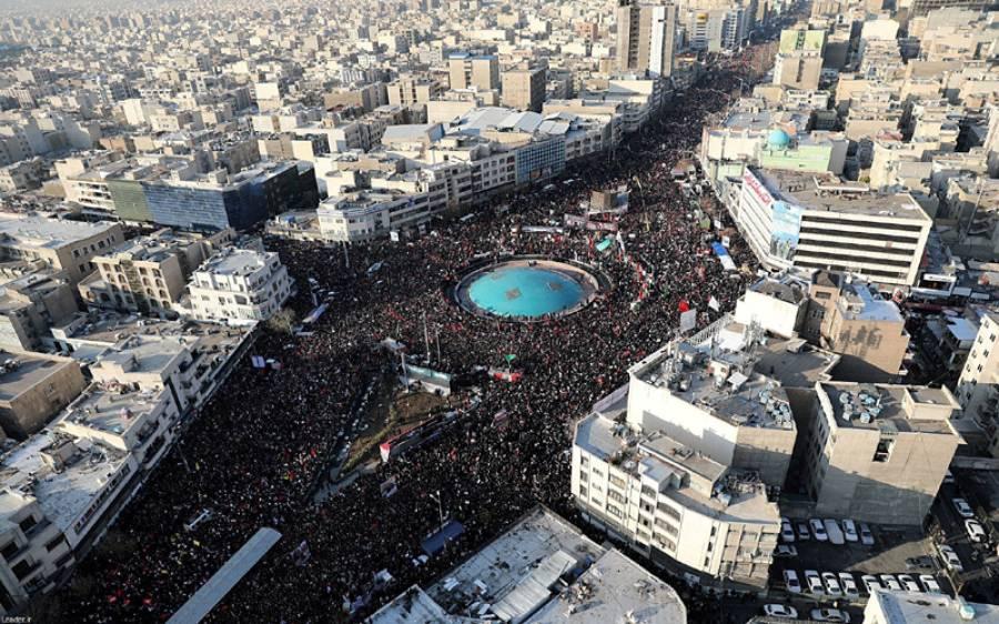ایرانی وزیر خارجہ نے قاسم سلیمانی کی تصاویر شیئر کرتے ہوئے ٹرمپ کو دھمکی دے دی