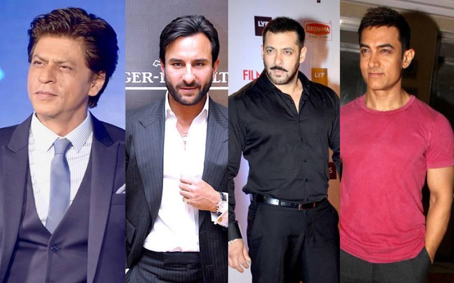 بھارت میں مقیم مسلمان فنکار سلمان، شاہ رخ، عامر اور سیف علی خان کے لیے خطرے کی گھنٹی بج گئی، نئی پریشانی