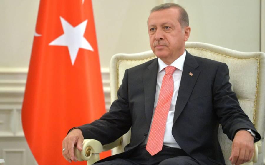 ترک صدر رجب طیب اردوان کے دورہ پاکستان کا امکان