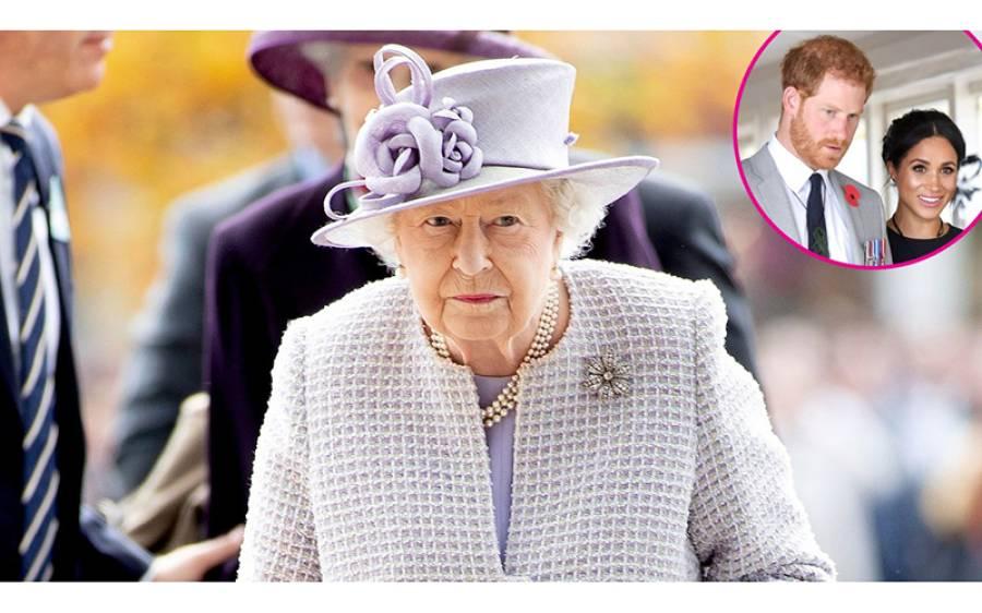 """""""شاہی حیثیت چھوڑنے کے بعد اب یہ کام بند کردو """"ملکہ برطانیہ نے شہزادہ ہیری اور اور میگھن مارکل کو حکم جاری کر دیا"""