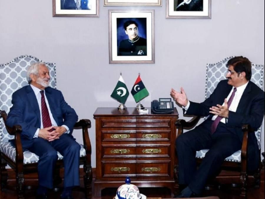 چیئرمین پی سی بی کی وزیراعلیٰ سندھ سے ملاقات، پی ایس ایل میچز کے حوالے سے تبادلہ خیال