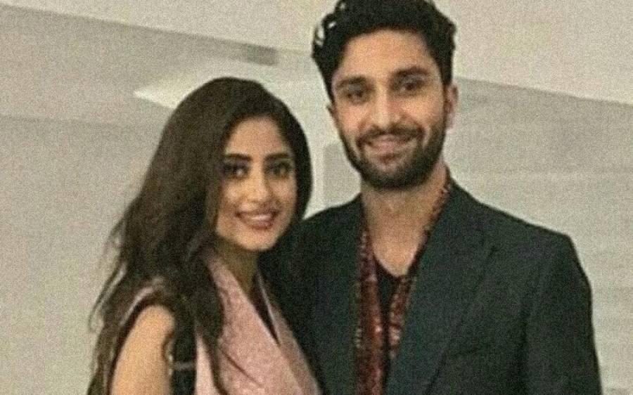احد رضا میر اور سجل علی کی شادی کی تقریبات شروع، تصاویر نے سوشل میڈیا پر دھوم مچادی
