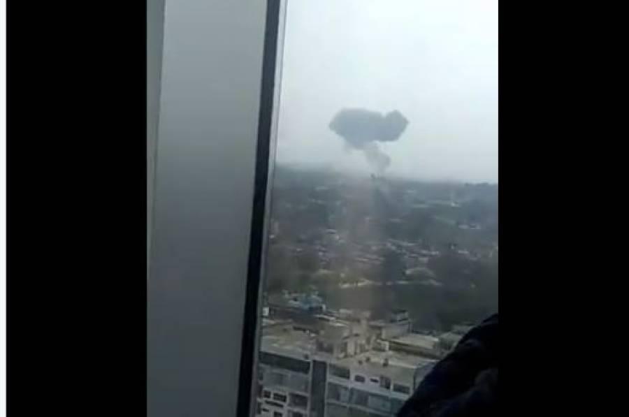 پاک فضائیہ کا جنگی جہاز گرکر تباہ،طیارہ کون سا تھا اور کس مشن پر تھا؟ ترجمان نے بتادیا