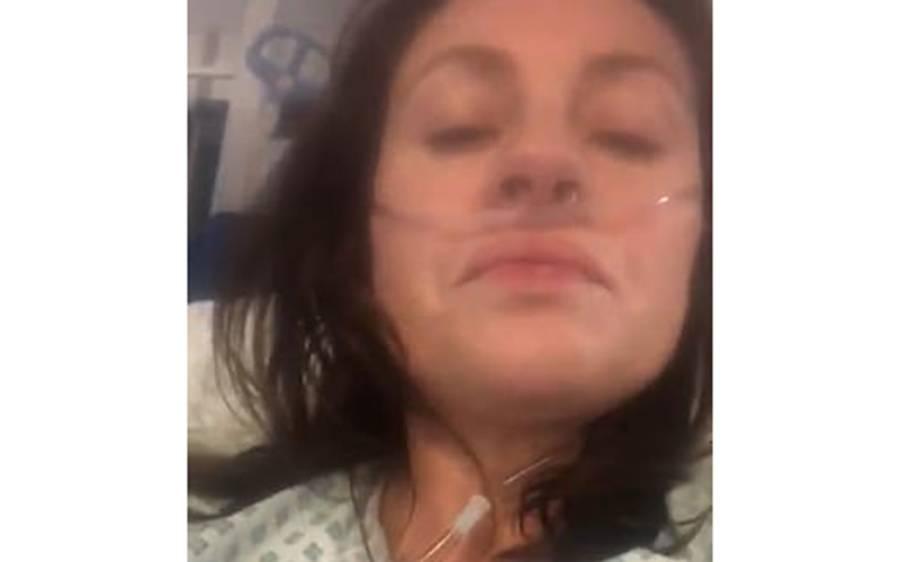 'کوئی چانس نہ لیں، میری حالت دیکھیں' کورونا وائرس سے متاثرہ 39 سالہ لڑکی نے ویڈیو جاری کردی، پوری دنیا کے لوگوں کو وارننگ دے دی