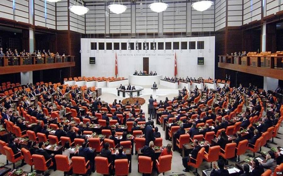 کورونا وائرس: ترک پارلیمان میں قیدیوں کی رہائی کا قانون پاس