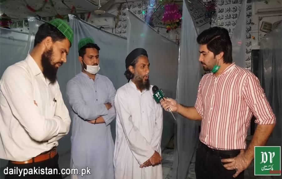 حکومت کی جانب سے اجازت ملنے کے بعد لاہور کی ایک مسجد میں تراویح کے لئےانوکھا انتظام