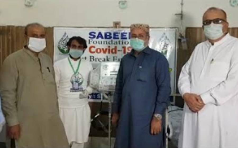 سبیل فائونڈیشن کی جانب سے سول ہسپتال عمرکوٹ میں بچوں کے وارڈ کے لیے وینٹی لیٹر عطیہ کیا گیا