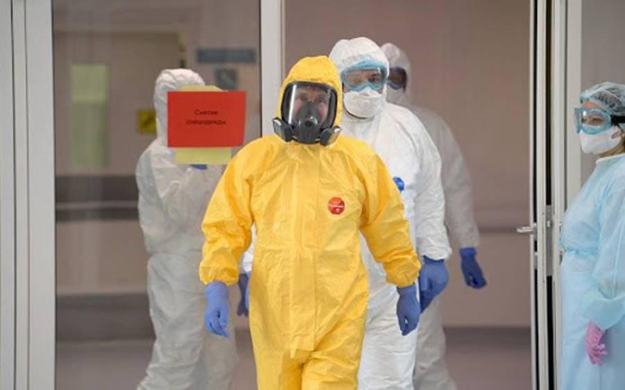 کورونا وائرس نے چینی ڈاکٹروں کی جلد کا رنگ کالا کر دیا