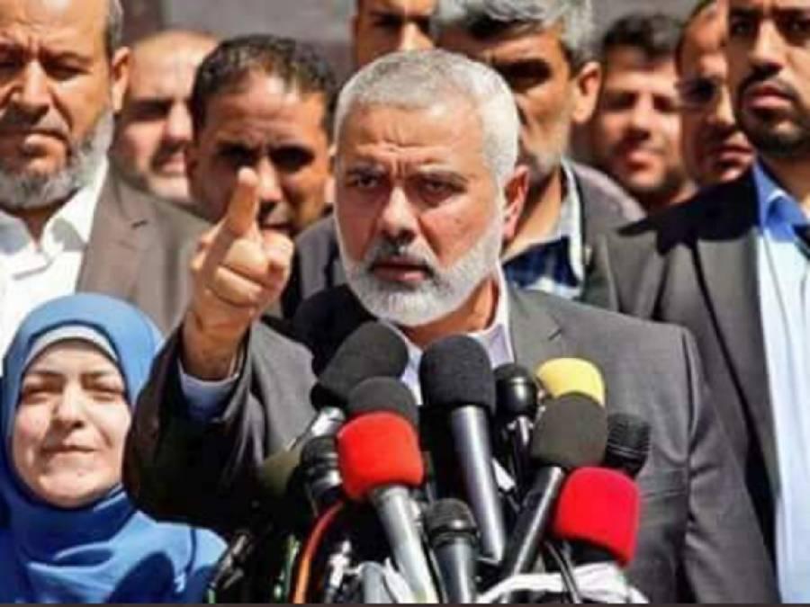 سابق فلسطینی وزیراعظم اسماعیل ہانیہ اور تحریک نہضہ تاجکستان کے صدرکا سراج الحق کا ٹیلی فون