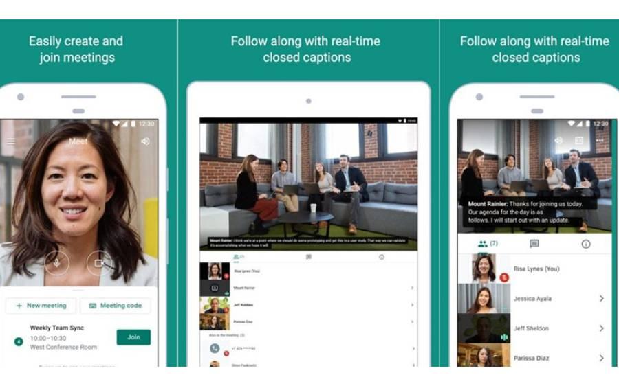 گھر پر بیٹھے لوگوں کے لیے خوشخبری، گوگل نے اپنی ویڈیو کالنگ ایپ بالکل مفت کردی