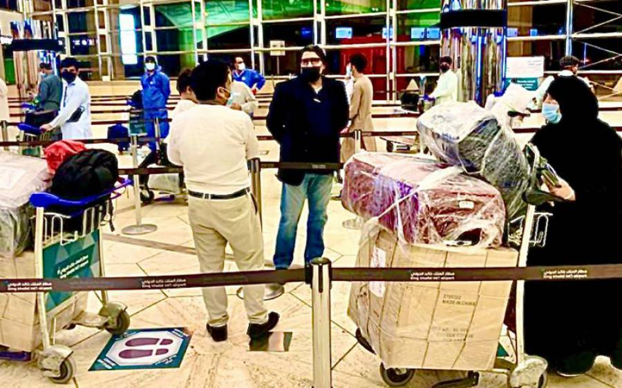 سعودی عرب سے پی آئی اے کی دو خصوصی پروازوں کے ذریعے 500 پاکستانیوں کی وطن واپسی