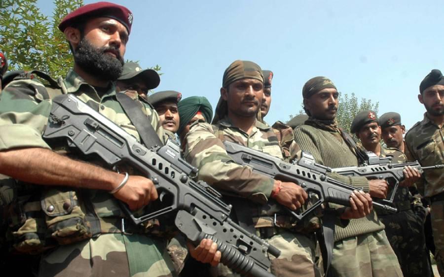 بھارتی فوج کے ہاتھوں نوجوان کی شہادت پر مقبوضہ کشمیرمیں احتجاج پھوٹ پڑے