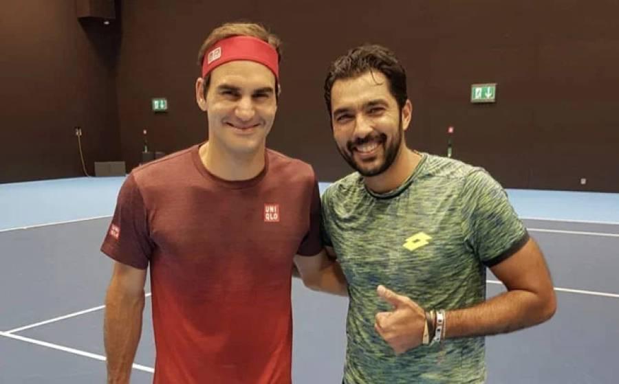 """ٹینس سٹار اعصام الحق بھی """"ڈریم پیئر"""" مہم میں شامل ہو گئے، کس کیساتھ جوڑی بنا کر کن کیخلاف کھیلنے کی خواہش ظاہر کر دی؟"""