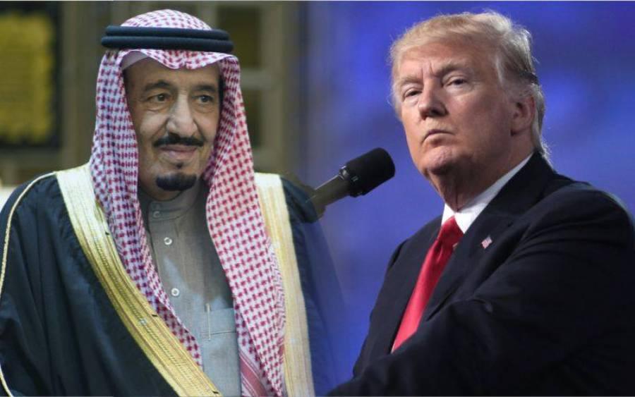 ٹرمپ اور شاہ سلمان میں ٹیلیفونک رابطہ، کس بات پر اتفاق ہوگیا؟ خبرآگئی