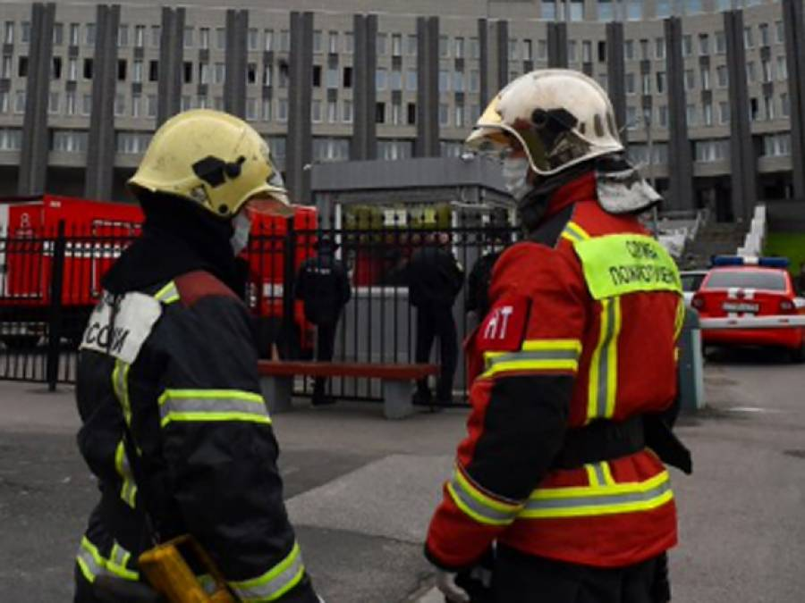 کورونا مریضوں کے لئے تیار کئے جانے والے ہسپتال میں آگ لگنےسے پانچ افراد ہلاک