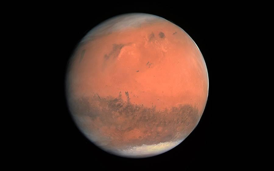 14 ماہ کو چاند اور مریخ آسمان پر اکٹھے نظر آئیں گے، یہ حیرت انگیز نظارہ آپ کیسے دیکھ سکتے ہیں؟ جانئے