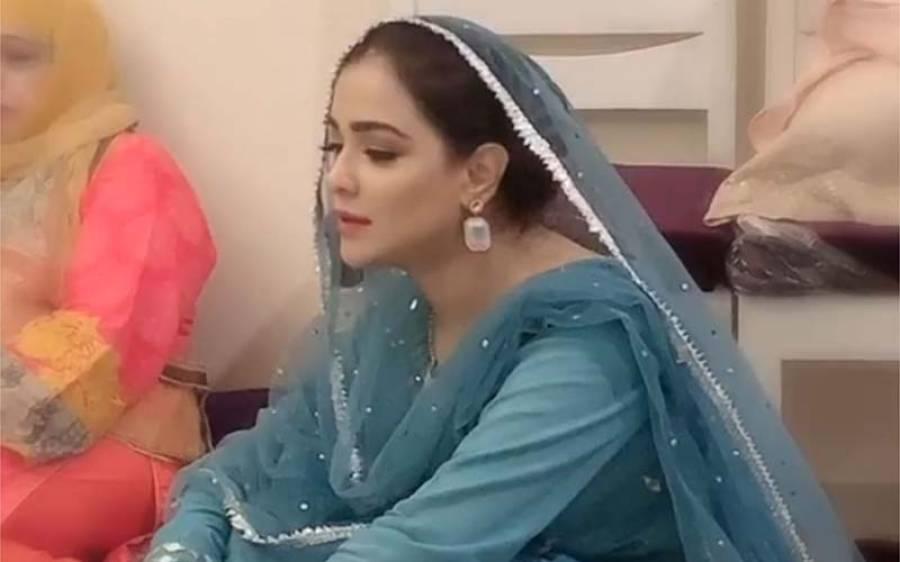 حمائمہ ملک میلاد کی ویڈیو لگا کر مشکل میں پڑ گئیں، پاکستانیوں کو غصہ آگیا