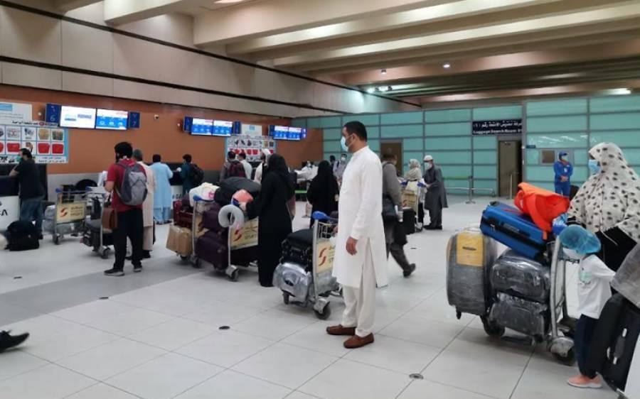 پی آئی اے کی دو پروازیں 260 مسافروں کو لے کر جدہ سے پاکستان روانہ ہوگئیں