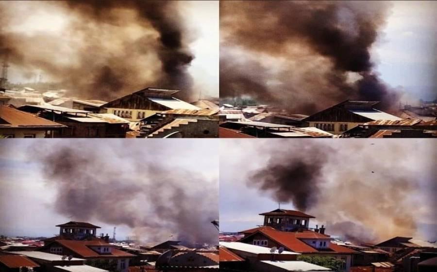 ظلم کی انتہا، بھارتی فوج نے کشمیریوں کے 15 گھر نذرِ آتش کردیے