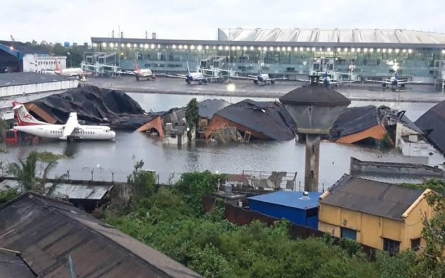 کورونا سے ستائے بھارت پر ایک اور قدرتی آفت نازل، سمندری طوفان ساحلوں سے ٹکرا گیا، تباہی مچ گئی