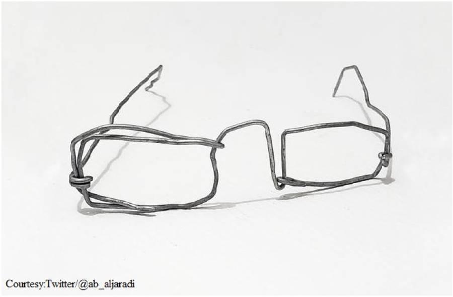 غریب بچے کی تار سے بنائی ٹیڑھی میڑھی عینک ہزاروں ڈالر میں کیسے بکی؟