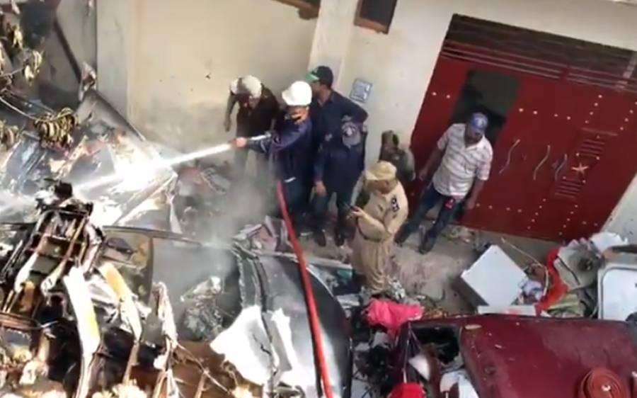 کراچی میں طیارہ حادثہ، پاک فوج اپنے ہیلی کاپٹرز کے ساتھ میدان میں آگئی