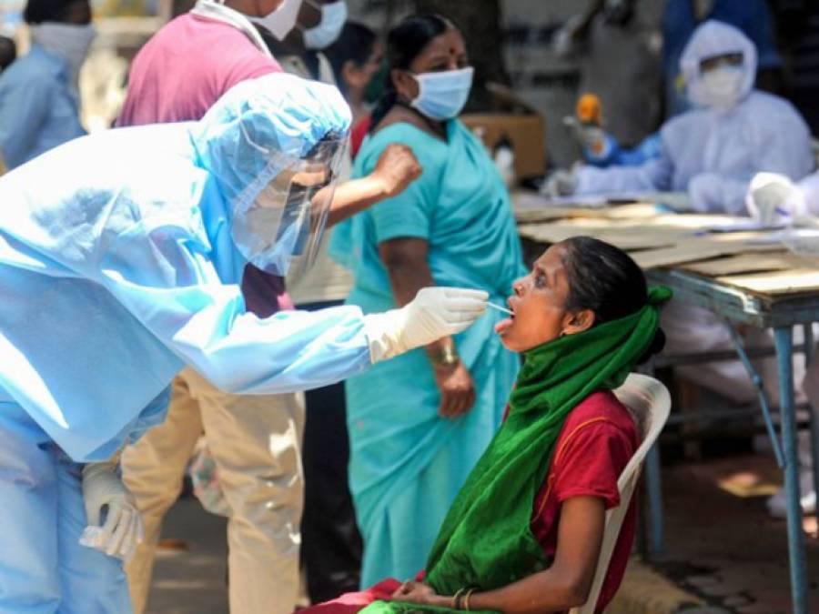 بھارت میں کرونا وائرس کے نئے کیسز کی تعداد میں خطرناک اضافہ،یومیہ اتنے مریض ہسپتالوں میں جانے لگے کہ محکمہ صحت نے سر پکڑ لیا