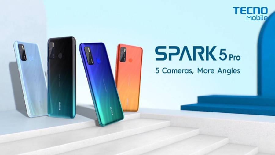 ٹیکنو کے معروف ماڈل 'سپارک 5' کے دو نئے ورژن متعارف، خصوصیات ایسی کہ ٹیکنالوجی کی دنیا میں دھوم مچادی