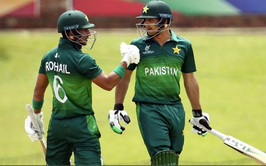 """""""پاکستانی ٹیم کے لیے وہی کردار ادا کرنا چاہتا ہوں جو کردار روہت شرمان انڈین ٹیم میں ادا کرتا ہے """"نوجوان پاکستانی کھلاڑی روہت شرما کو رول ماڈل مان لیا"""