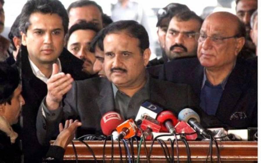 کرپشن کے ٹڈی دل پاکستان کی بنیادوں کوکھاچکے ہیں،وزیراعلیٰ پنجاب