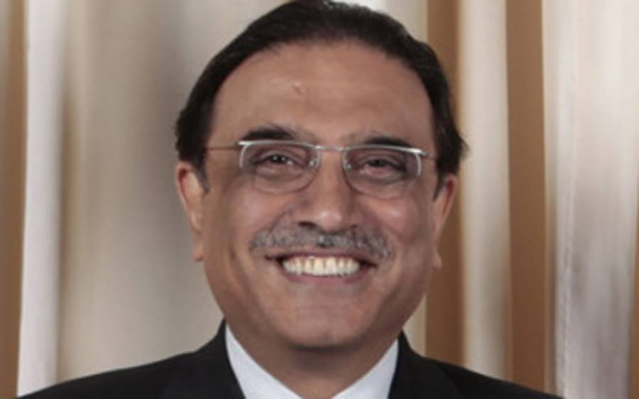بیماری کی افواہوں کے بعد سابق صدر آصف علی زرداری کی نئی تصویر منظر عام آگئی