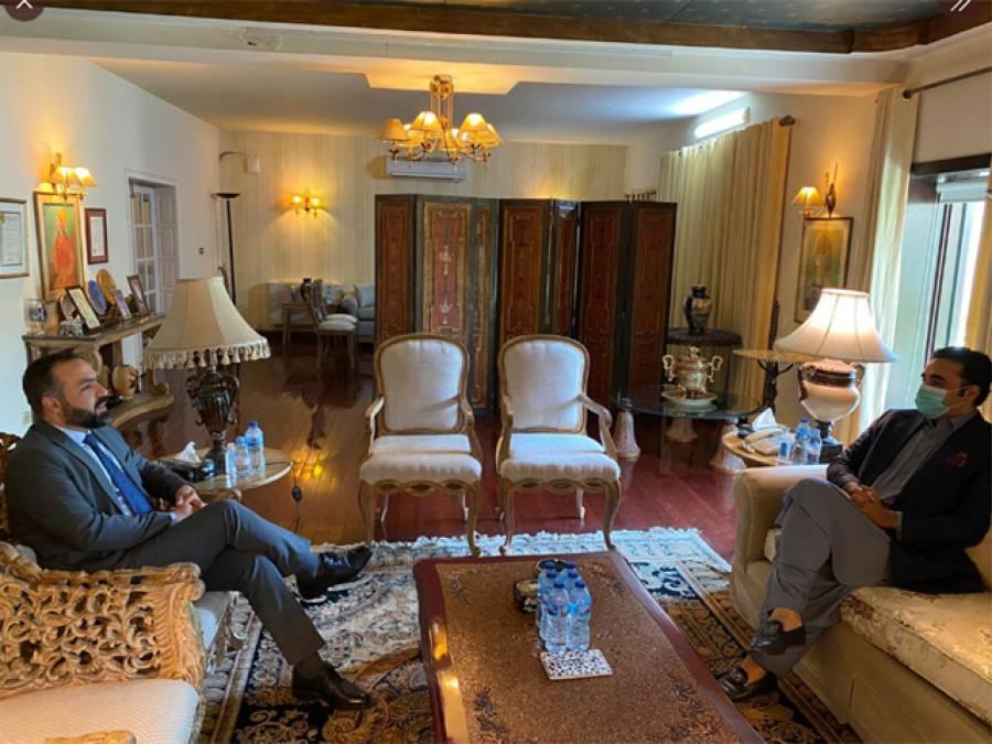 بلاول بھٹو زرداری سے افغان سفیر کی ملاقات ،دونوں کے درمیان کیا گفتگو ہوئی؟تفصیل آ گئی