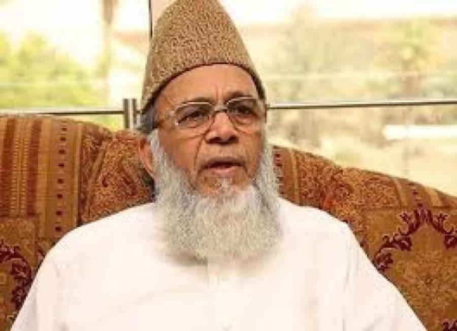 سابق امیر جماعت اسلامی سید منور حسن کی نماز جنازہ ادا، امامت کس نے کروائی؟ جانیے